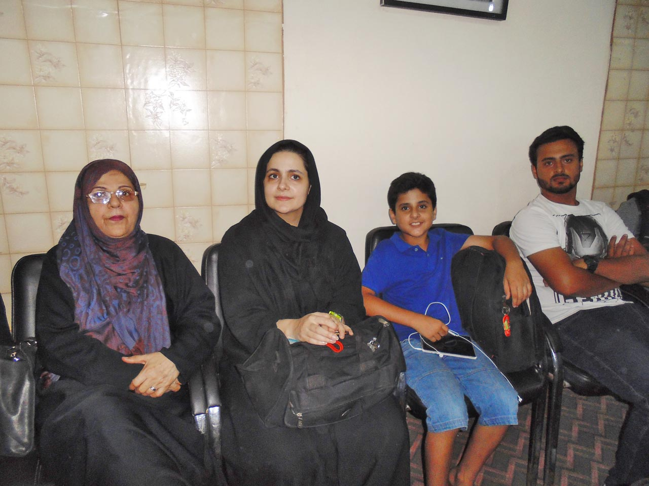 Mehtab Saeed Khan's family