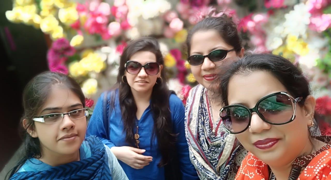 Bushra Irshad, Faryal B. Khan, Dr. Kiran A. Rehman and Erum Imran