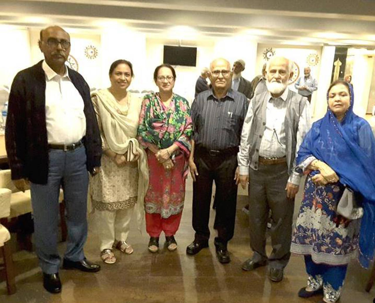 Mr & Mrs. Sami Khan, Mrs. Manzoor Shaikh, Mr. & Mrs. Habib Ibrahim