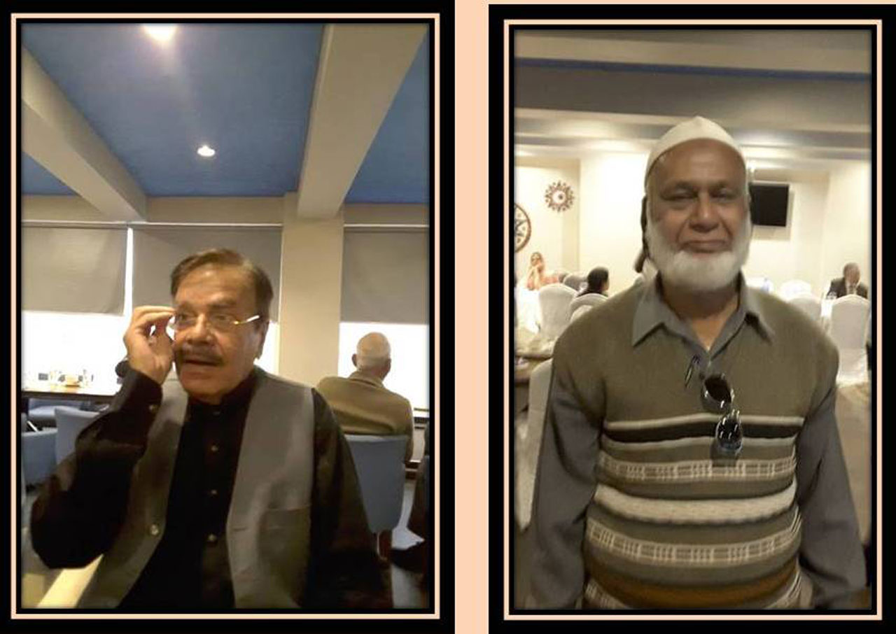 Tariq Anees Quraishi and Naiyer Nawaid Hashmi