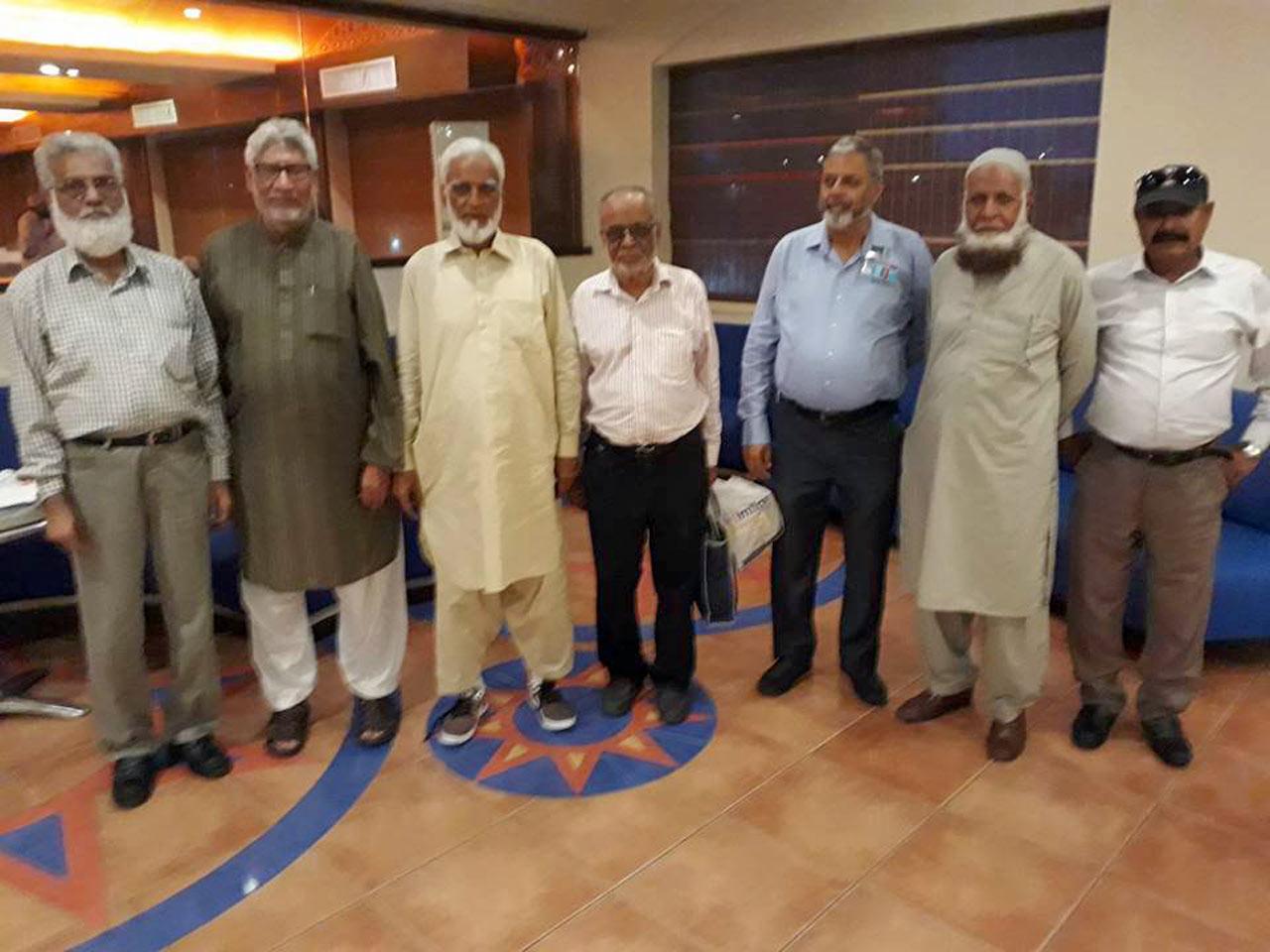 Jamiluddin Shaikh, Muhammad Salim Hamid, Kamal A. Farooqi, Mohammad Abdul Matin, Arif Qamar, Aziz Ur Rehman Khan, Sabir Ali