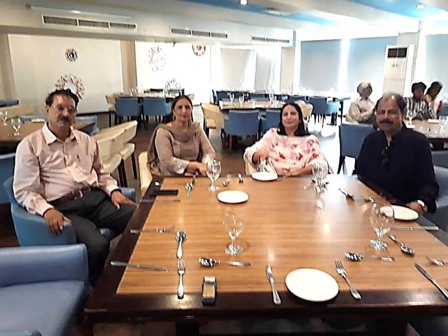 Maqbool Hussain, Mrs. Maqbool Hussain, Sajida Baig, Iftikhar Baig