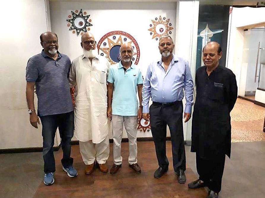 Khalid, Sirahuddin, Mujeebur Rehman, Arif Qamar, Nafees Quraishi