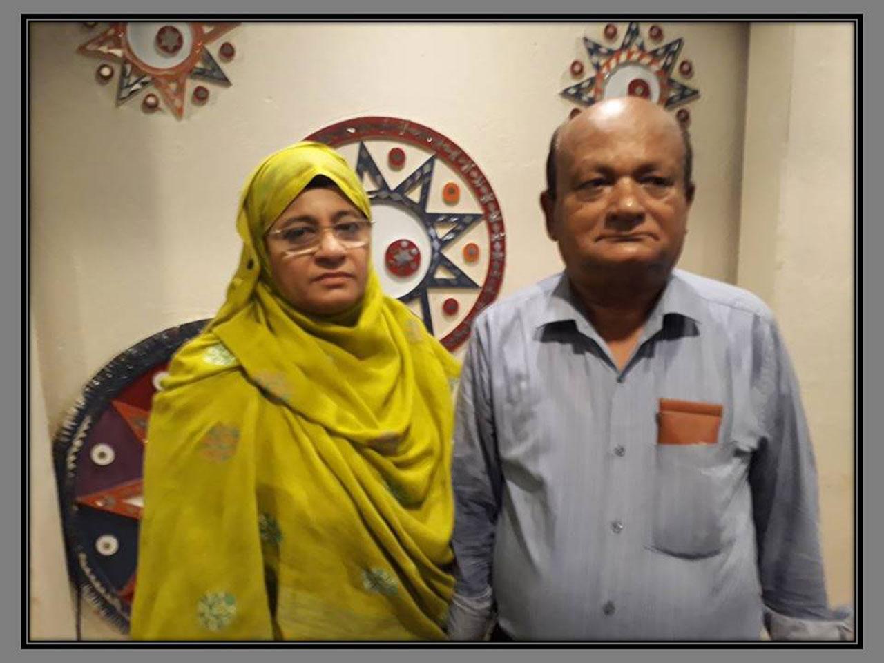 Mrs. Samina Akram Ali (SAEEA Lady Representative and Ovais Akram Ali