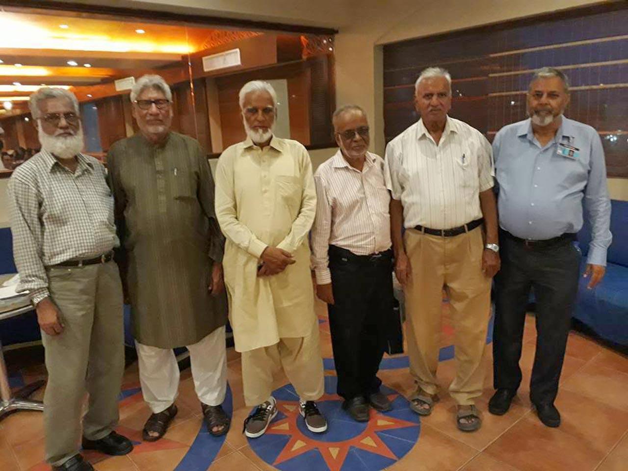 Jamiluddin Shaikh, Muhammad Salim Hamid, Kamal A. Farooqi, Qutubuddin Khan, Arif Qamar