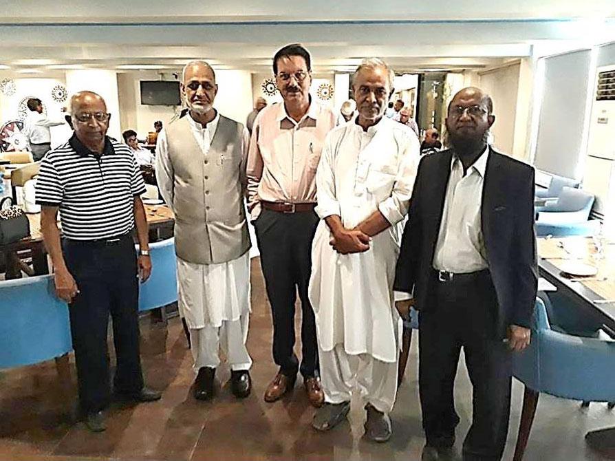 Syed Aslam, Qazi Naseer, Maqbool Hussain, Ahmed Jan, Anwar Ul Hai