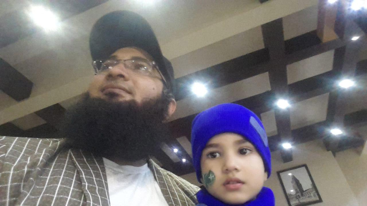 Syed Mohammad Yahya and his son Master Mohammad Ali