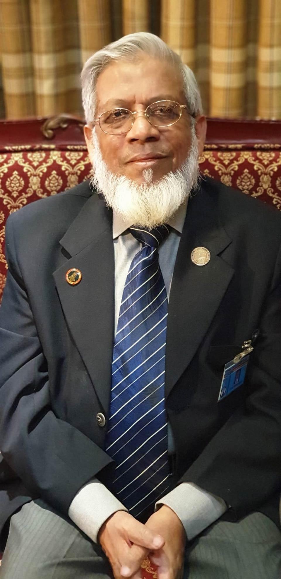 Engr. Iqbal Ahmed Khan, Vice President SAEEA