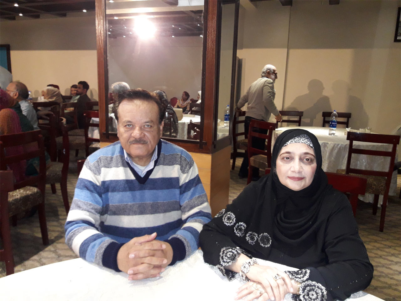 Mr. & Mrs. Shahid Khan