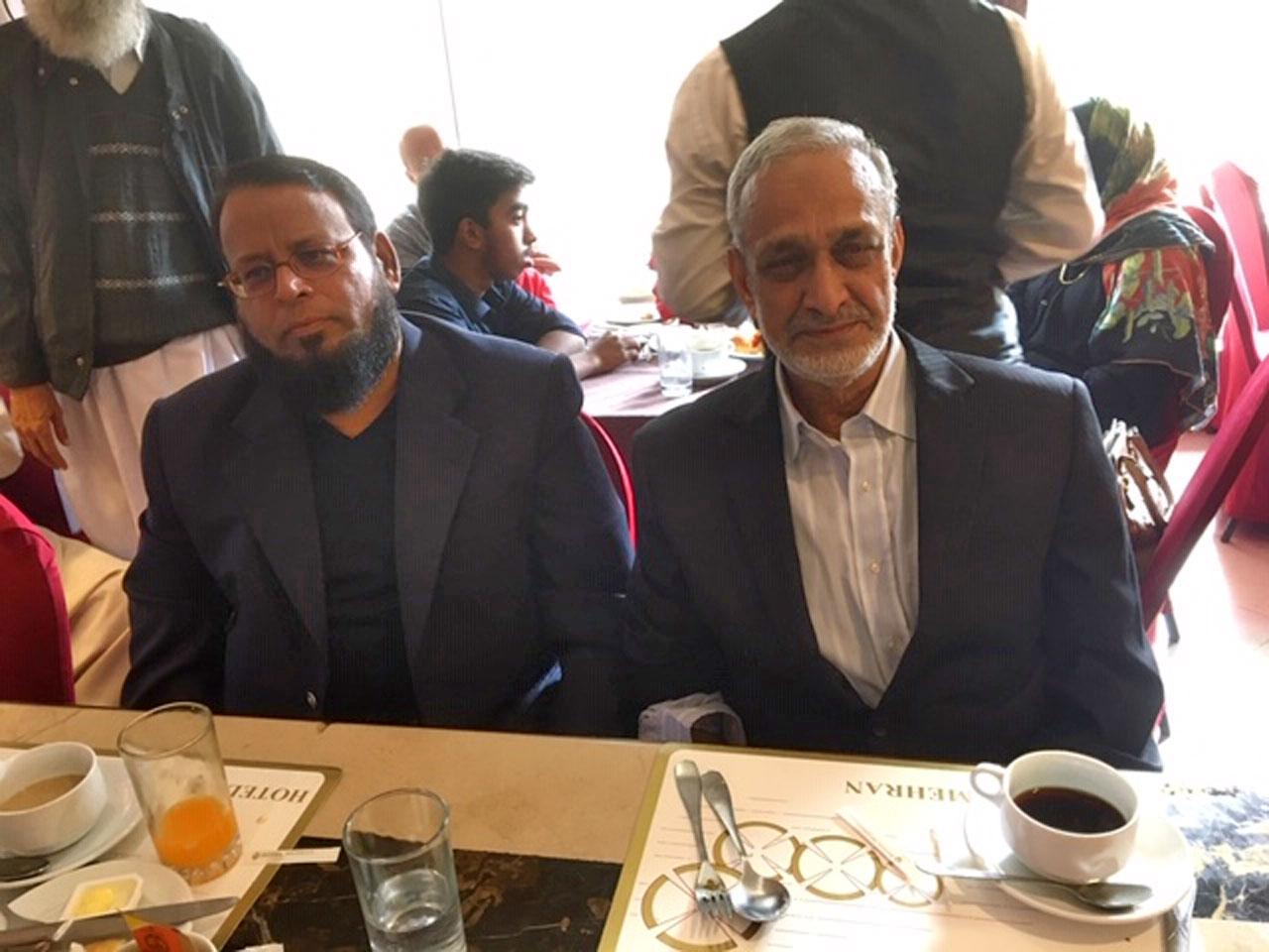 Dr Ata Ur Rehman and Qazi Naseer