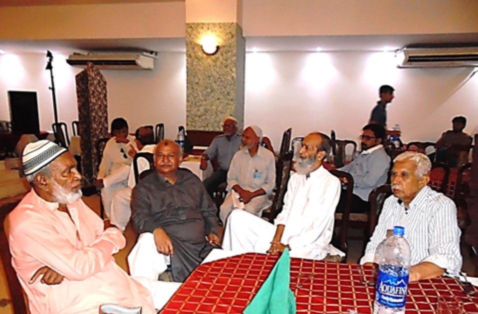 Members at 15th Reunion Gathering, SAEEA, Karachi