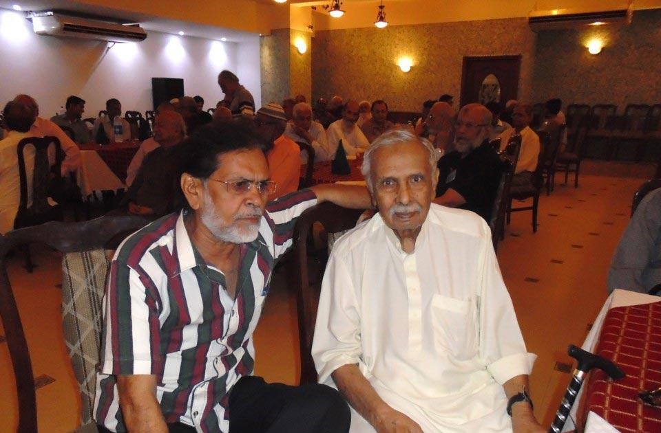 L to R: Menhdi and Habib Nabi Khan