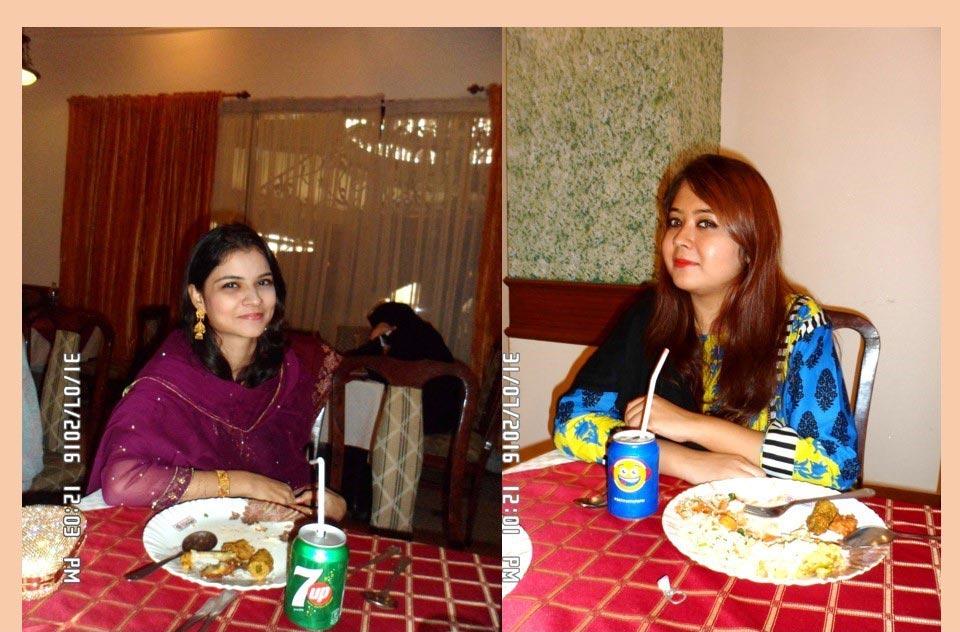 L to R: Iman Alavi and Dania Abdulmatin