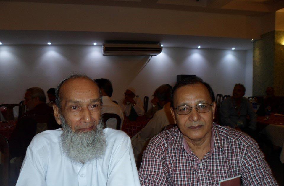 L to R: Muhammad Younus Yusufi and Javed Anjum
