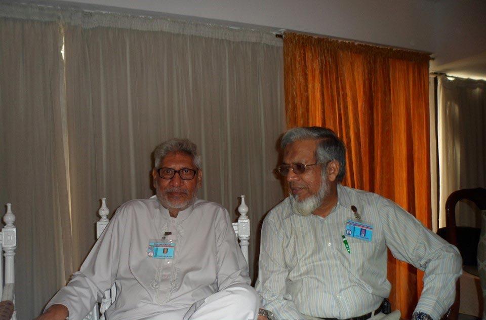 L to R: Muhammad Salim Hamid and Iqbal Ahmed Khan