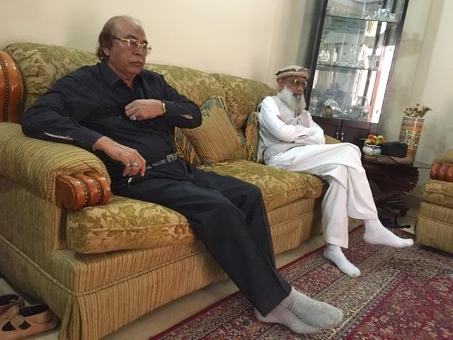 Ata Ur Rehman and Saleemullah Hussain