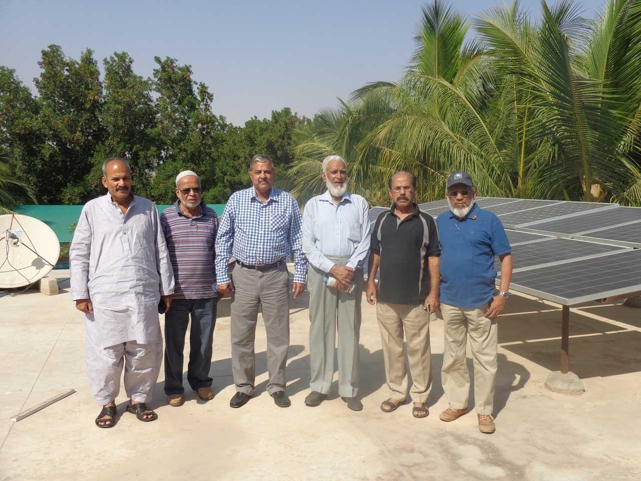 Afzal A. Farooqi, MA Mateen, Arif Qamar, Kamal A. Farooqi, Shafiq A. Khan, Engr. Iqbal A. Khan