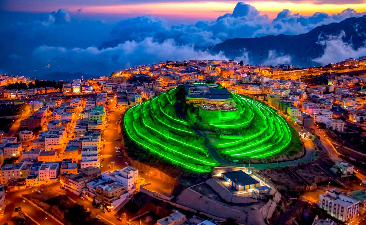 Green Mountain at twilight. (Photo courtesy of Asim Madane.)
