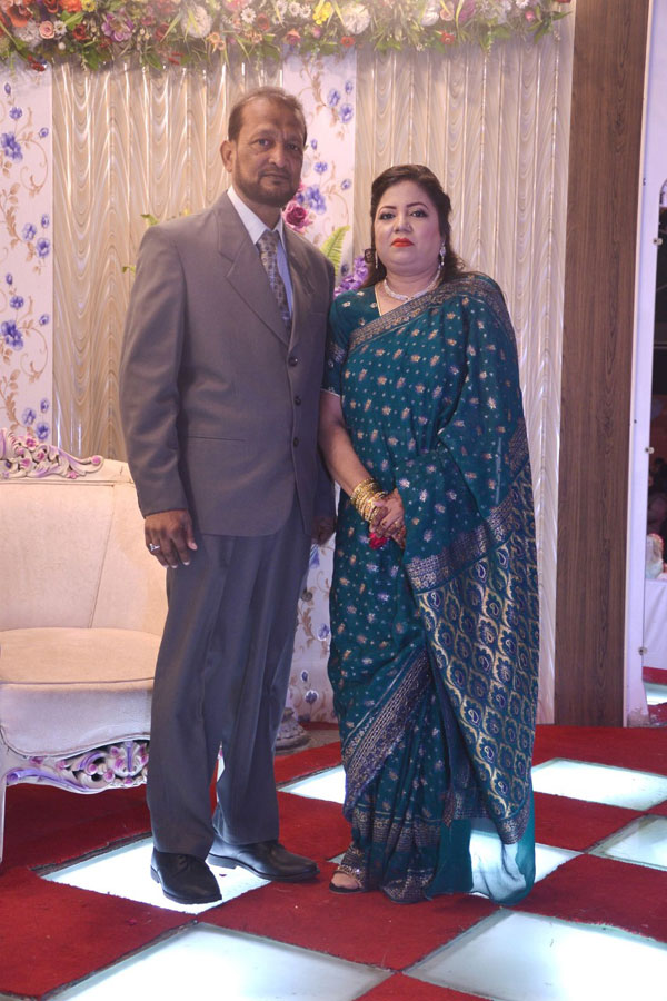 Mr. & Mrs. Muhammad Saleem, Parents of the bride