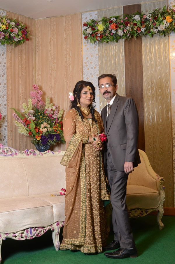 Mr. and Mrs. Kashif Ahmed Khan, Elder brother of Shabeel Khan