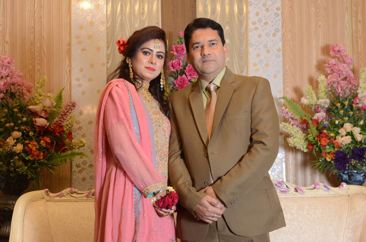 Mr. and Mrs. Imran Ahmed Khan, Sister and brother I law of Shabeel Khan