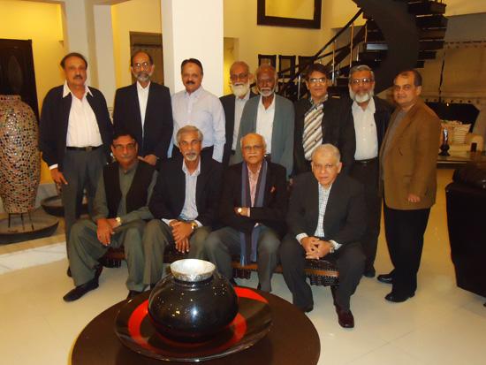 Engr. Syed Sharif Naqvi visit to Karachi - 02