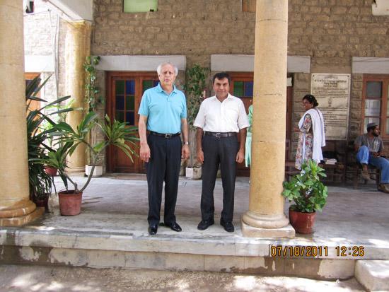 Engr. Syed Sharif Naqvi visit to Karachi - 15