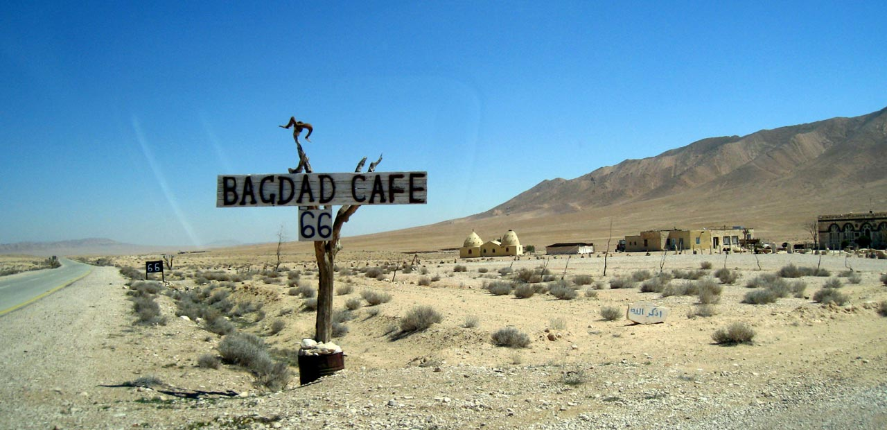 Bagdad Cafe 66. © Mark Lowey 2021. All rights reserved.