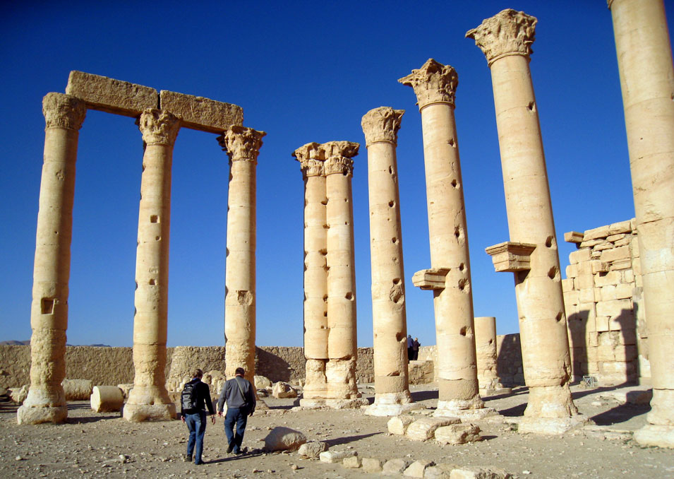 Temple of Bel. © Mark Lowey 2021. All rights reserved.