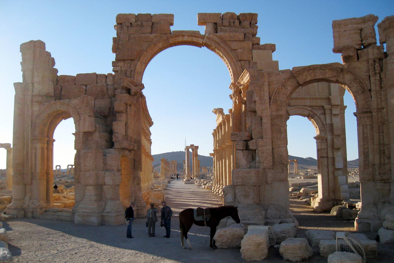 The Monumental Arch. © Mark Lowey 2021. All rights reserved.