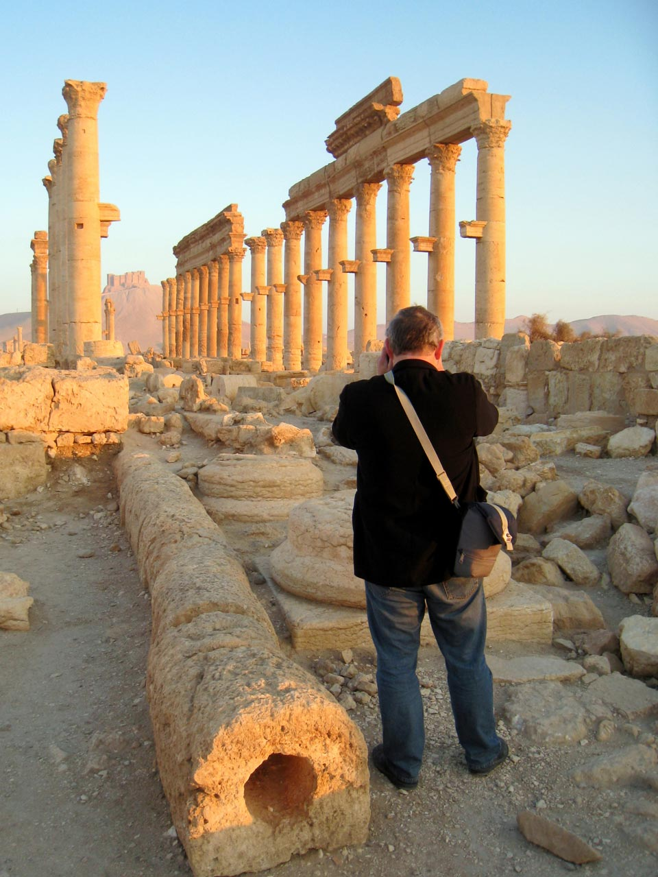 Colonnade at Palmyra. © Mark Lowey 2021. All rights reserved.