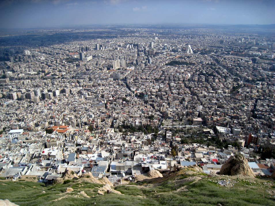 Damascus, Syria. © Mark Lowey.