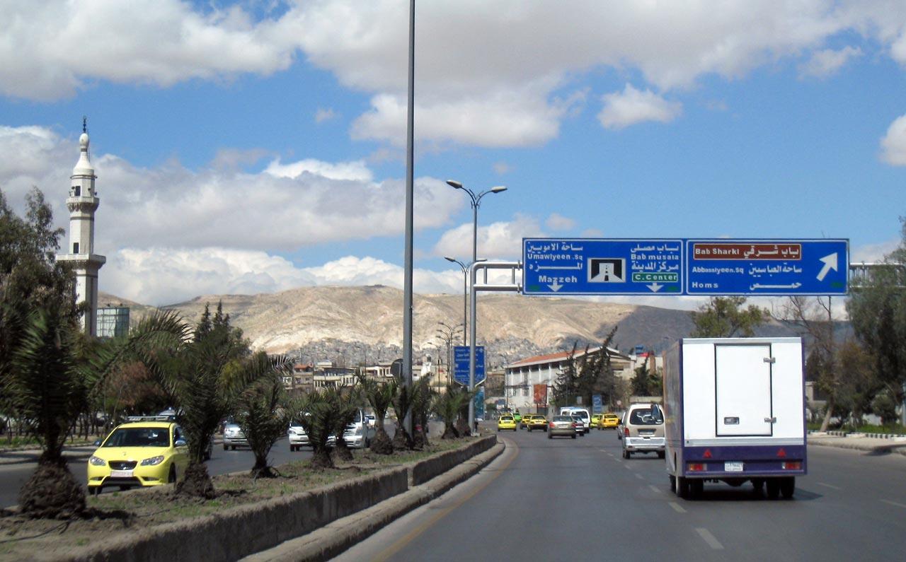 Entering Damascus. © Mark Lowey.