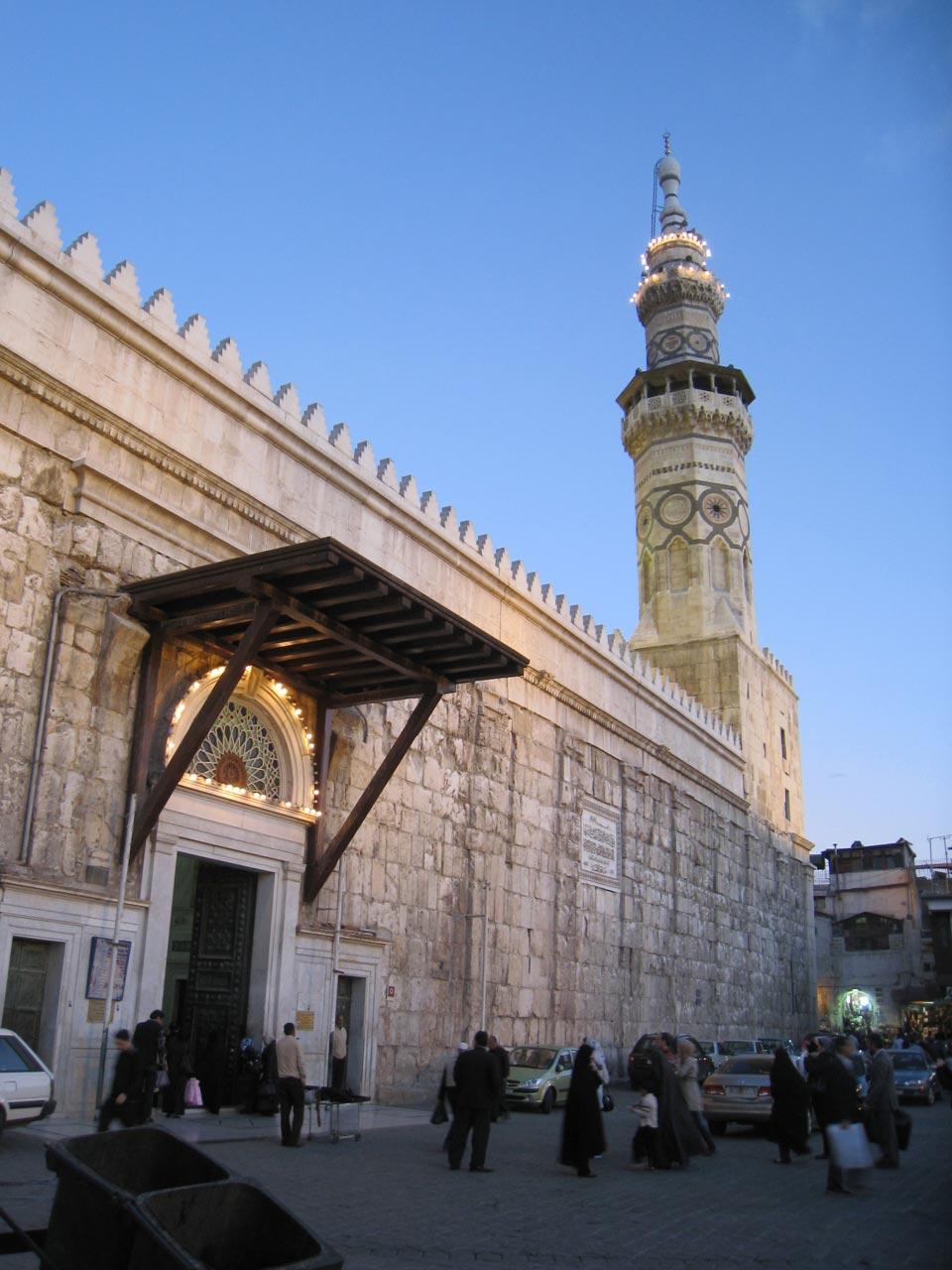 Umayyad Mosque entrance. © Mark Lowey.