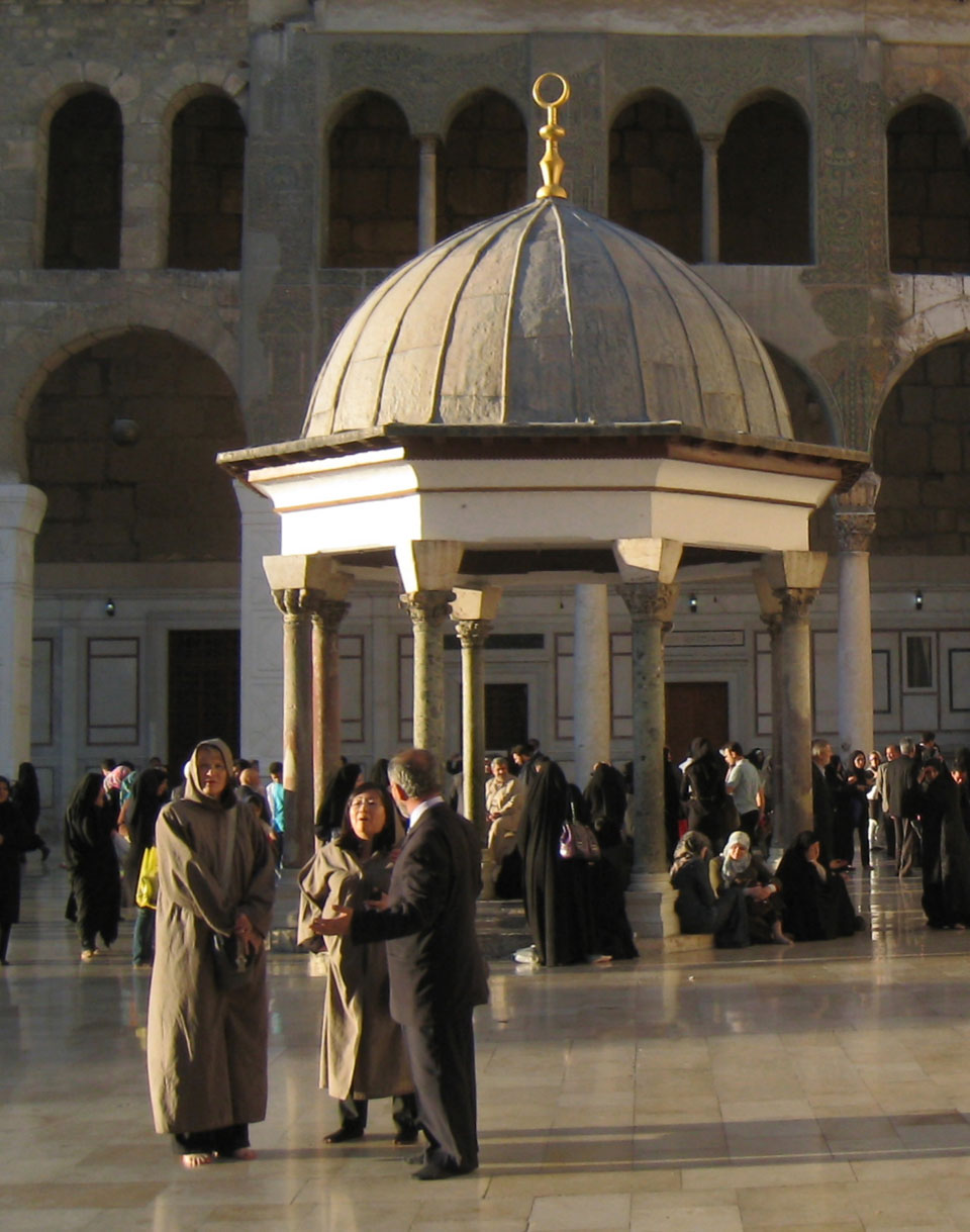 The Dome of the Clocks at Umayyad Mosque. © Mark Lowey.