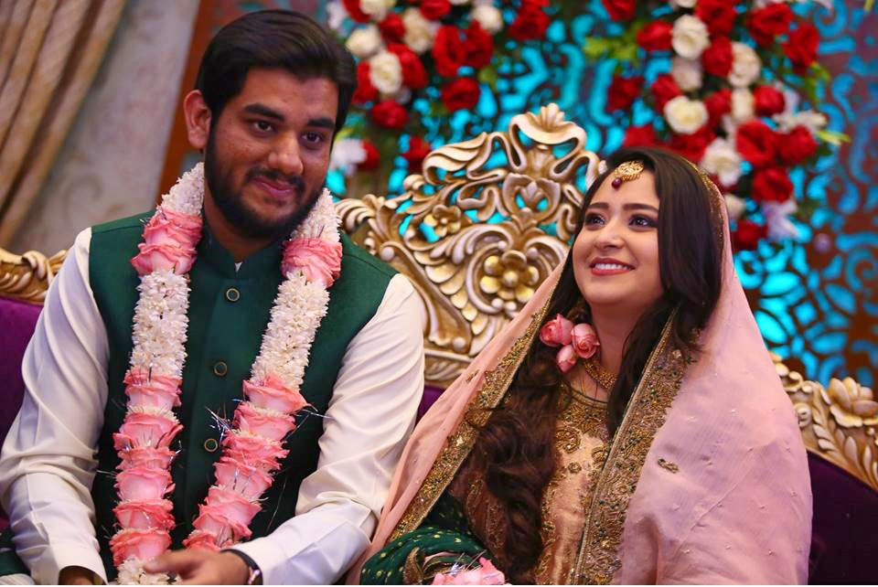 Engr. Taha Khan and Samia Siddiqui