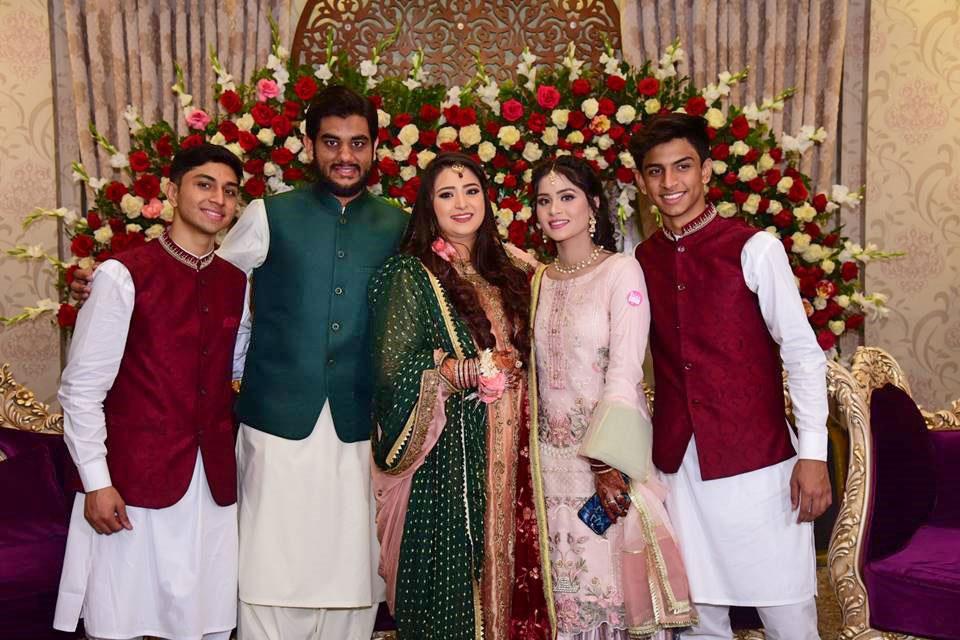 Hamza Siddiqui, Engr. Taha Khan, Samia Siddiqui, Hira Siddiqui, Tayyab Siddiqui