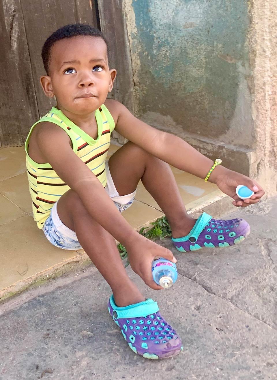 A handsome boy in Trinidad.