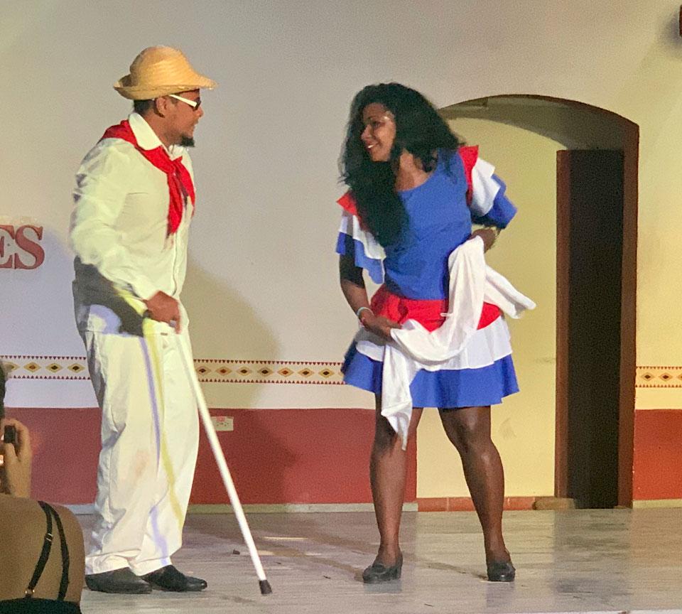 Folkloric performances.