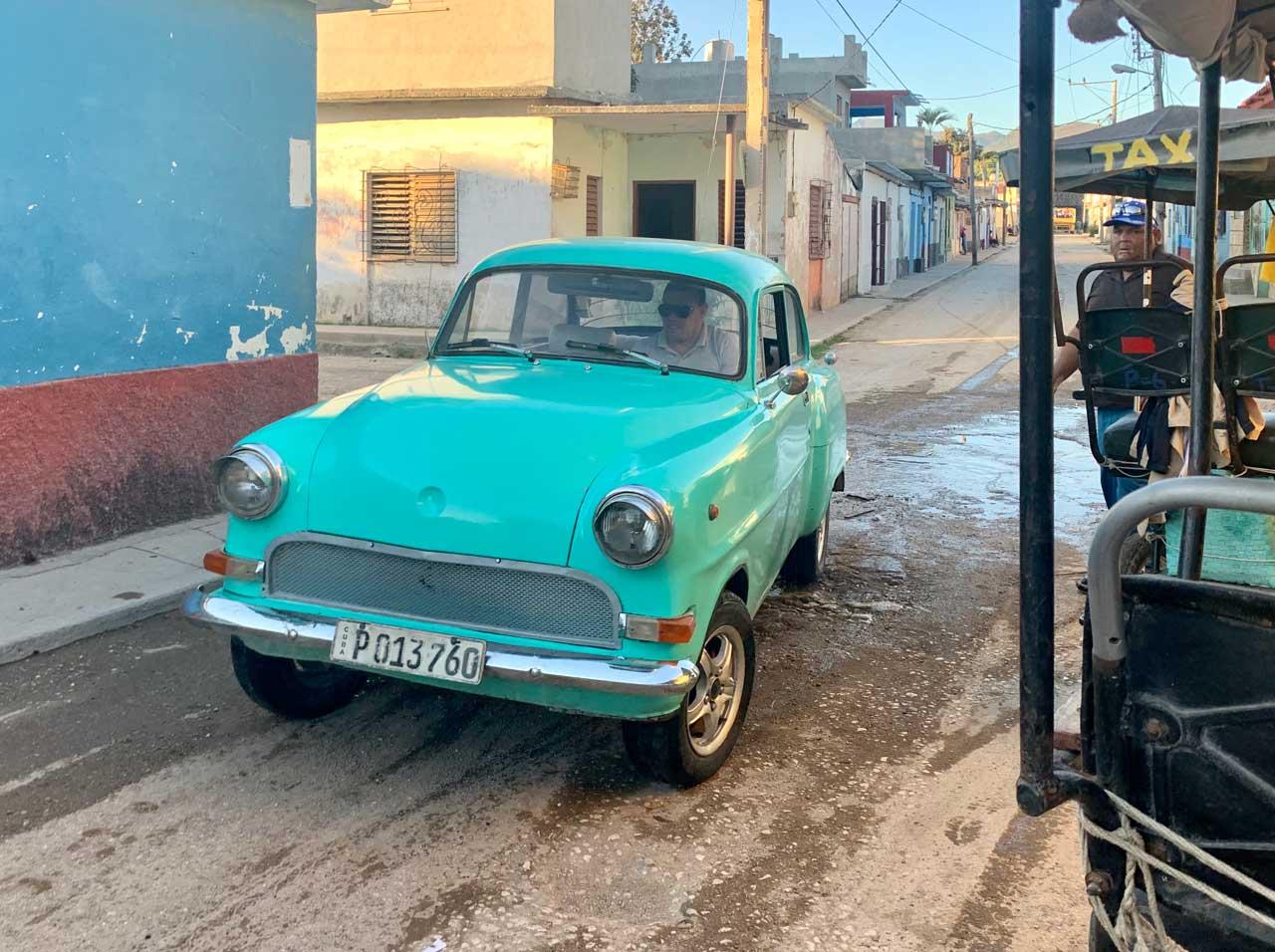 Trinidad taxi.
