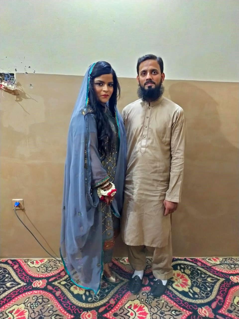 Umaima Abdul Bari (Bride), Muhammad Zubair Sultani (Groom)