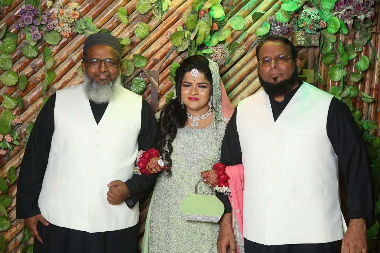 Hakeem Abdul Bari (Father of the bride), Umaima Abdul Bari, Dr. Ata Ur Rehman (Chachu)