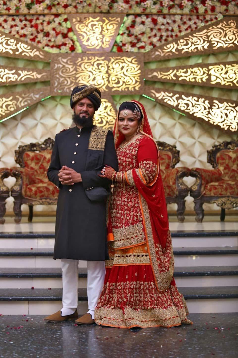 Muhammad Zubair Sultani (Groom) and Umaima Abdul Bari (Bride)