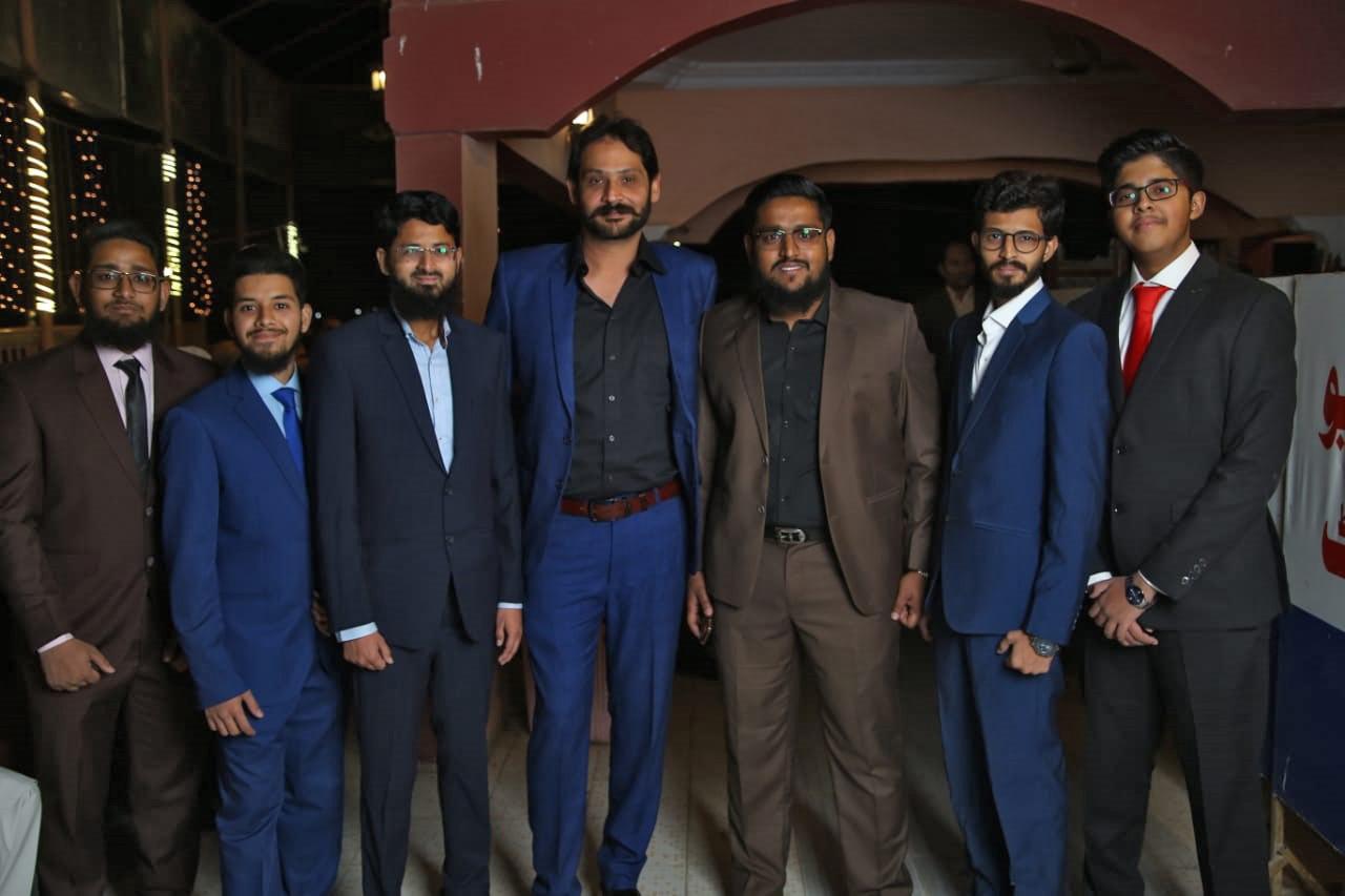 Zubair Abdul Bari, Obaid Ur Rehman, Hamid Khan, Faisal, Muhammad Anas Abdul Bari, Ahmed Khan, Habib Ur Rehman