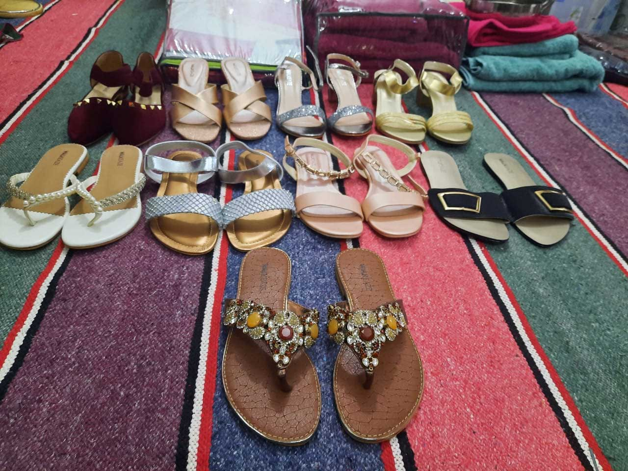 Pairs of Shoes for the Bride