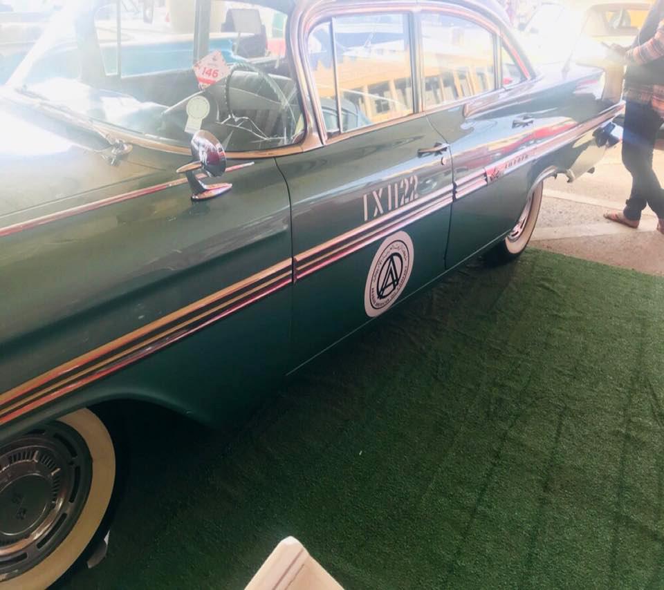 Classic Aramco Taxi