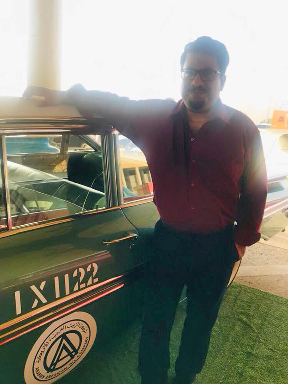 Nostalgia with Aramco Taxi