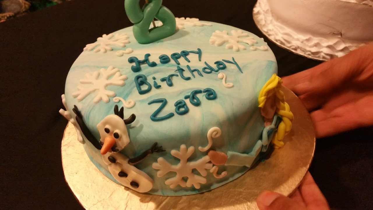 Zara Imran Happy Birthday Cake