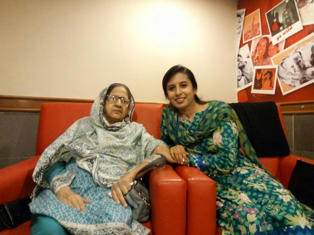 Mrs. Zohra Iqbal, Mahin Imtiaz