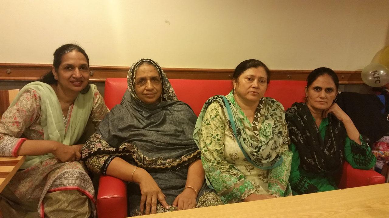 Mrs. Shabana Abdul Hameed, Mrs. Rehana Obaid, Mrs. Aqla Nadeem, Mrs.Rudaba Irshad